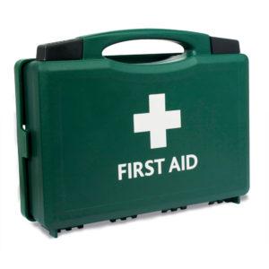 Aston First Aid Box Green